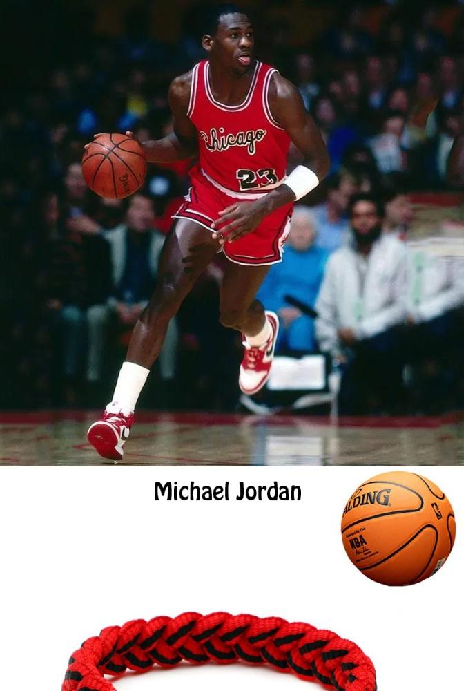 reliable quality new release genuine shoes 【COD 】O-kay Michael Jordan Basketball Sports Shoelace Wristband Adjustable  Shoelace Bracelets