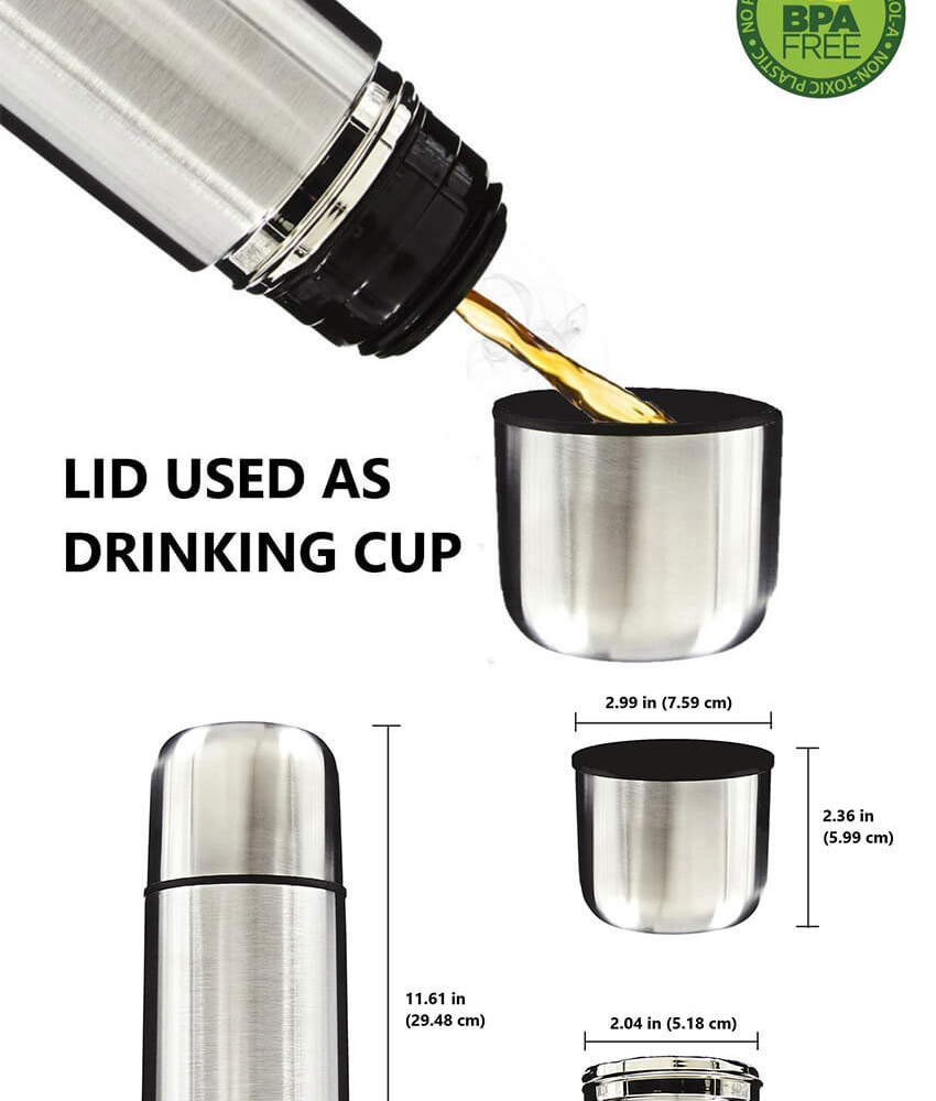 34813d33f43 Specifications of JvGood Thermos Bottle Thermal Flasks Containers Insulated  Thermos Tumbler Water Bottle Stainless Steel Travel Mug Best Gift New Double  ...