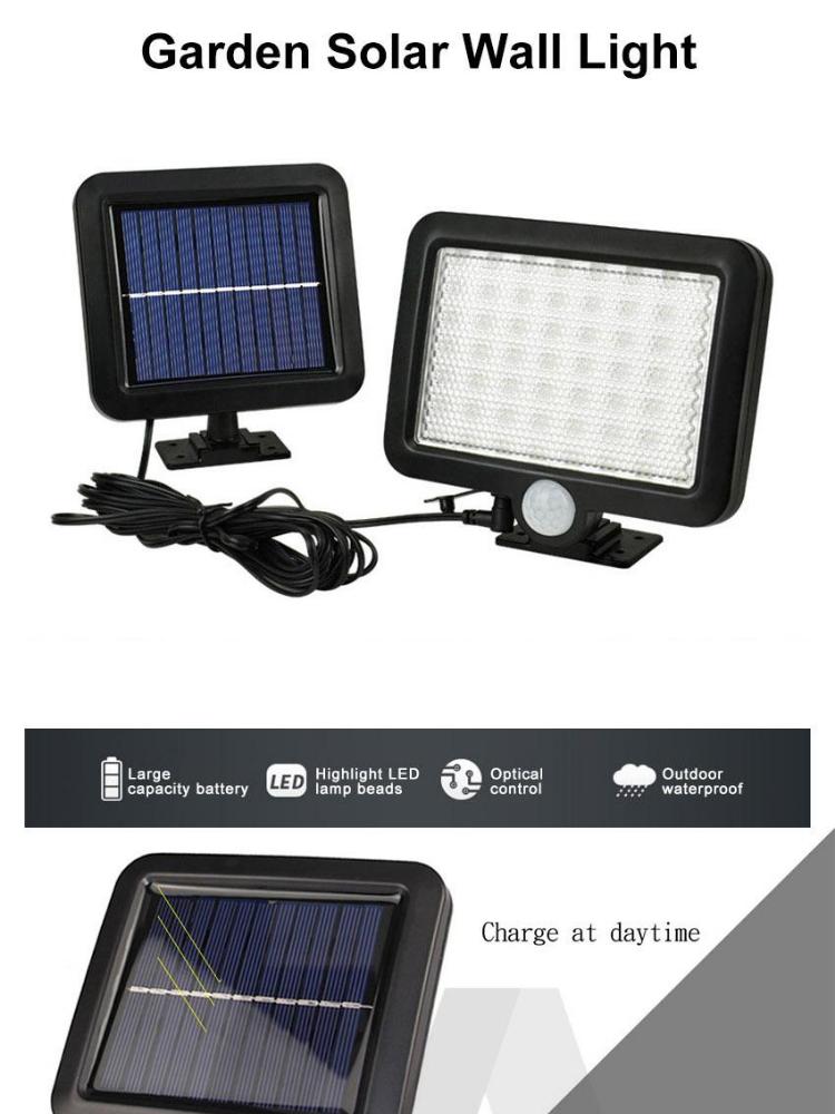 Outdoor Lighting Sensor Solar Wall