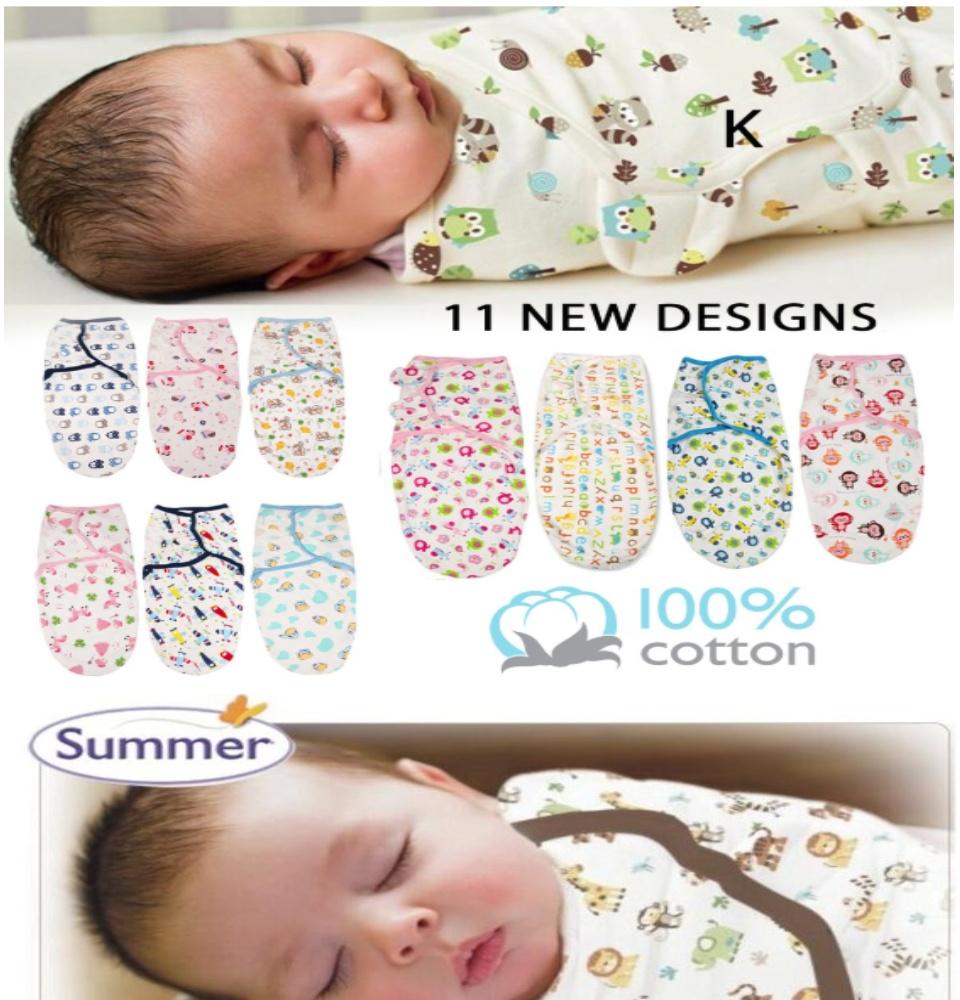 Brand New Baby//Infant Summer Swaddle Me Blanket Wraps//Sleeping Bag  Lime