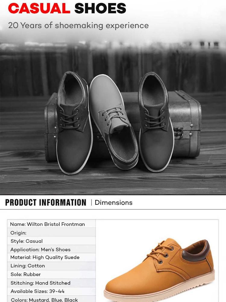 Wilton Bristol Frontman Casual Formal Leather Gentleman Shoes