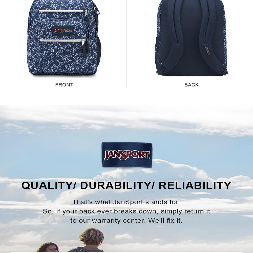 JanSport Big Student Backpack 600 Denier Polyester Backpacks