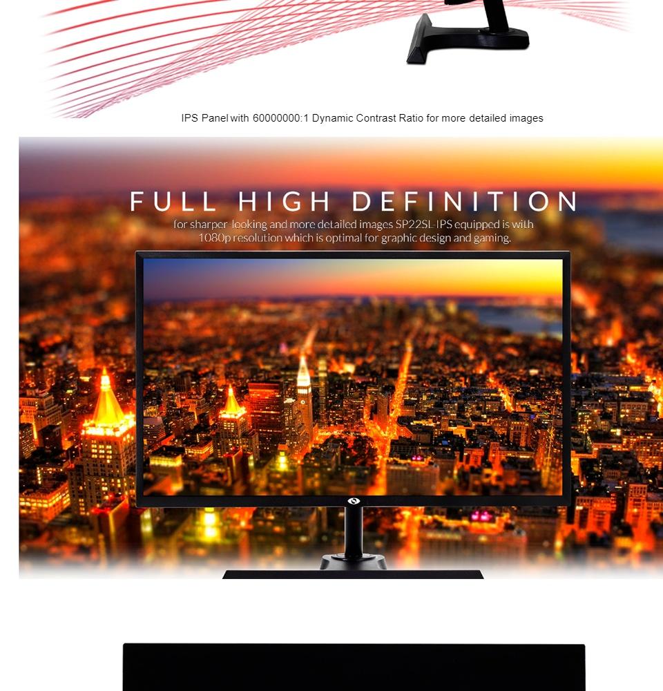 SpecterPro Monitor G22SL Led IPS 21 5
