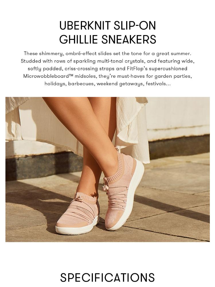 Fitflop Women's Shoes L26 UBERKNIT SLIP