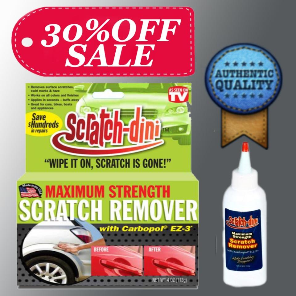 BestSeller Magic Scratch Dini Scratch Remover Car Clean Polish SALE %30