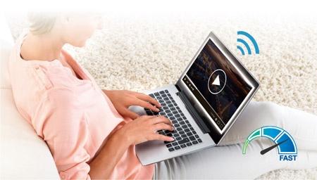 ASUS RT-AC58U AC1300 Dual Band Wireless Wi-Fi Gigabit Router