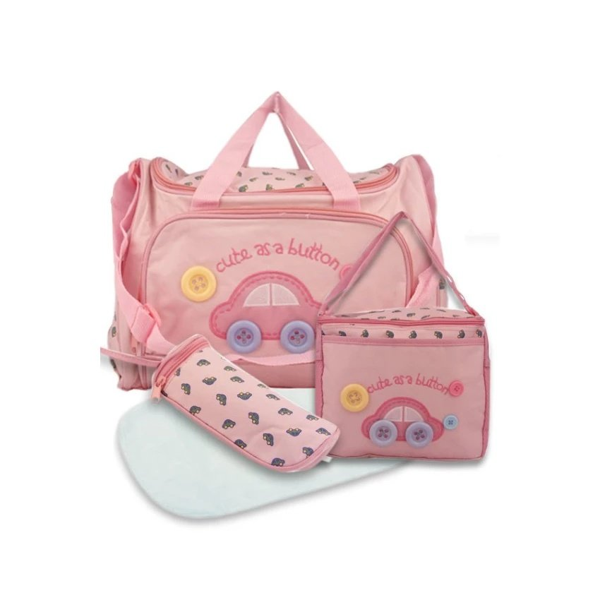 223993d3cf Product details of Baby 002 Cute Diaper Bag (Pink)