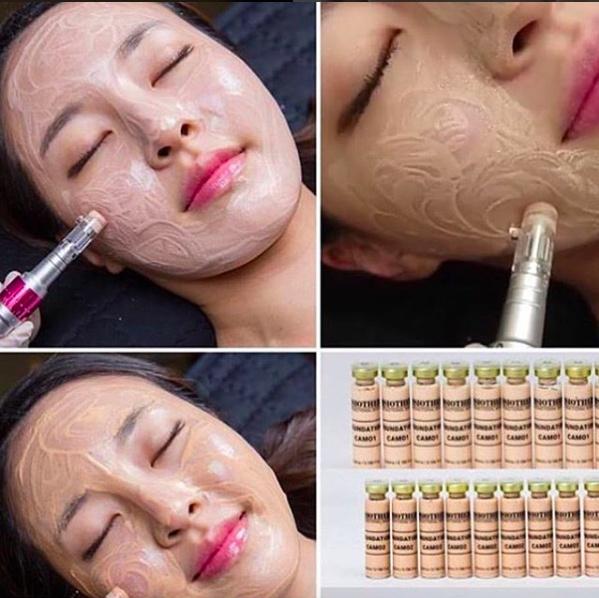 Korea BB Cream MTS Semi Permanent Make Up CAM01 Ampoule Box of 10 vials