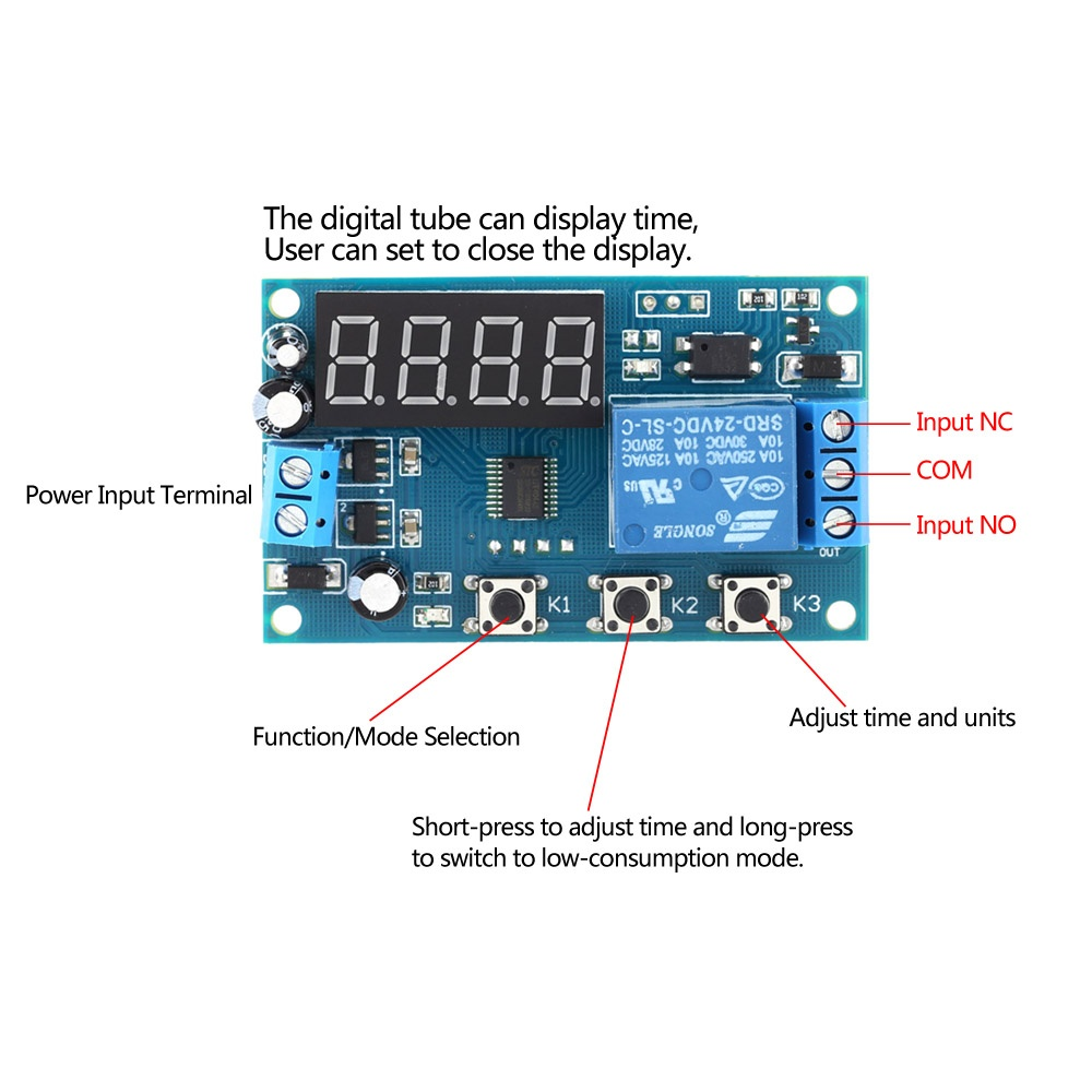Delay Time Module Switch Control Relay Cycle Timer Dc 12v Intl Related Links Electronic More Circuit Product Details Of