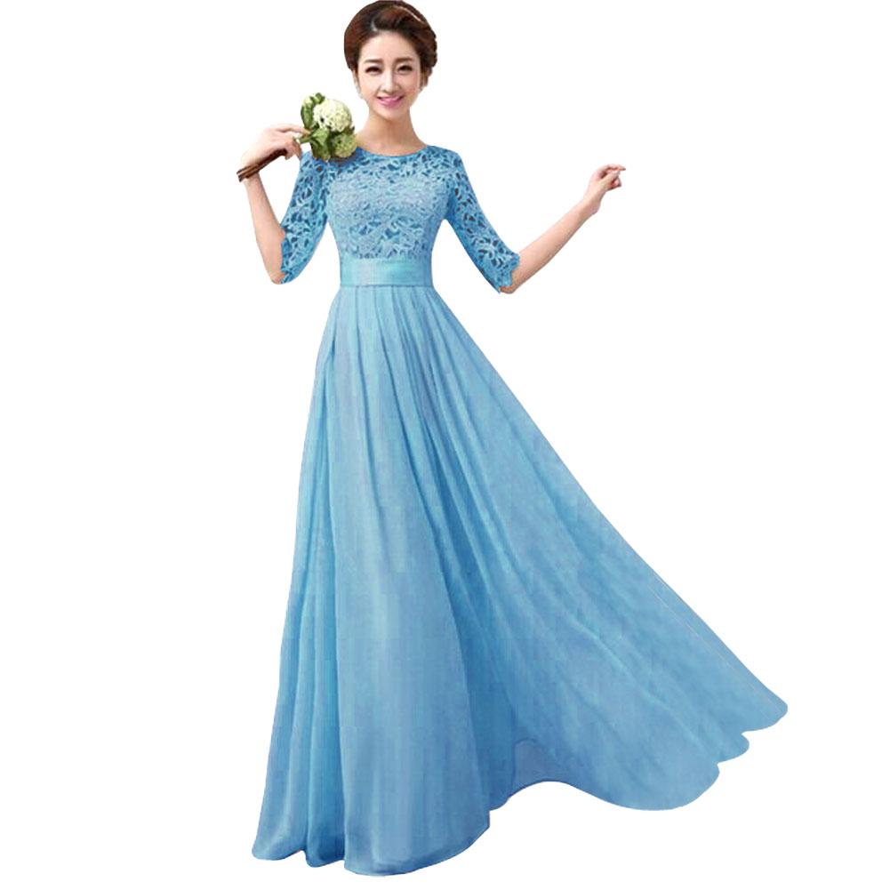 elegant long evening dresses