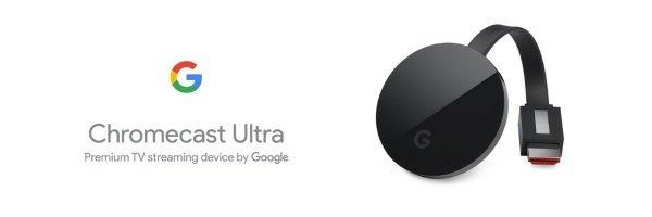 Chromecast Ultra banner
