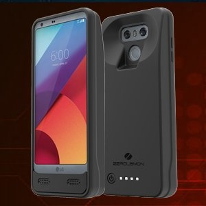 ZeroLemon LG G6 8000mAh Extended Battery Case Black