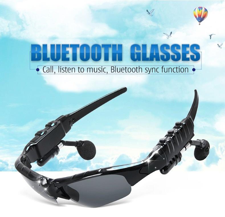 Giá Bluetooth 5.0 Thông Minh Kính Mát Tay Nghe Tai Nghe Tai Nghe Gọi Nhạc Điều Khiển Bằng Giọng Nói